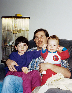 Jennifer, Dean & Jeff in Kent, WA.  The good looking trio!