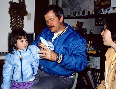 Jennifer, Terry, Randi & Max (the bird).  Bozeman, Montana.