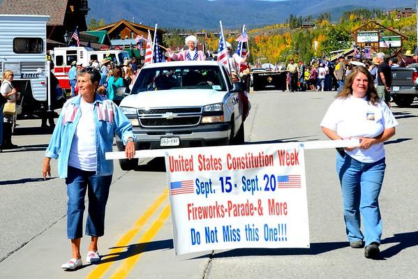 Grand Lake 2014 Constitution Week Parade