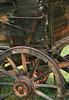 Old Wagon Back Wheel