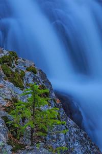 Amid Rock And Falls
