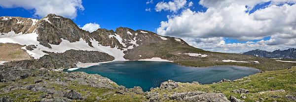 Lake Dorothy - 3 image pano