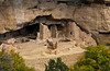 The ruins of Oak Tree House in Mesa Verde National Park, Colorado, USA, America.