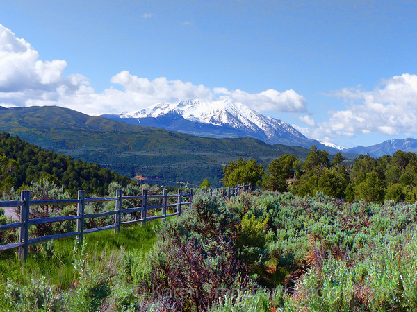 Mt Sopris, Colorado