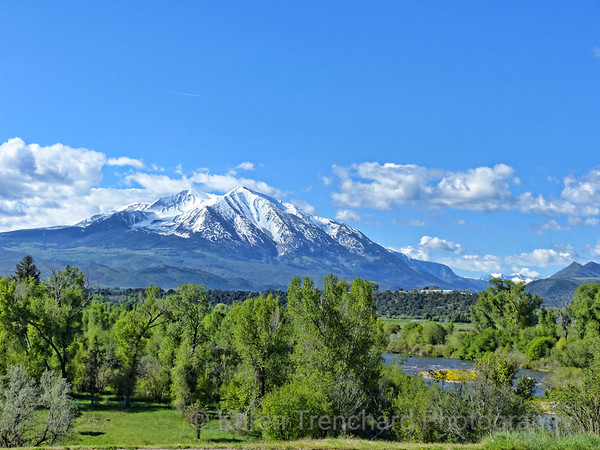 Mt. Sopris and valley