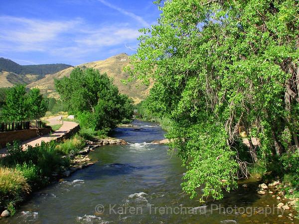 Clear Creek, Golden, Colorado
