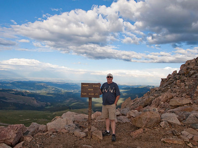 Mt Evans Summit, 14130 feet.
