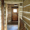 inside house looking toward vestibule/mudroom main entrance