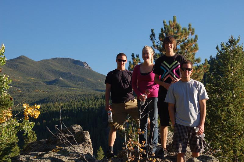 """<a href=""""http://diannelanderson.smugmug.com/Colorado/CO-2010/Sept-2010/13871669_sMLp4q#!i=1017420186&k=JjdEb"""">Click here for photos of Brett, his friends and property photos</a>."""