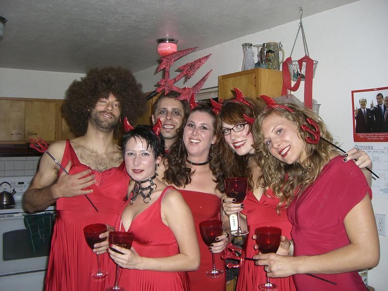 2007 10-27 - Devilishly good looking people partying in Hell