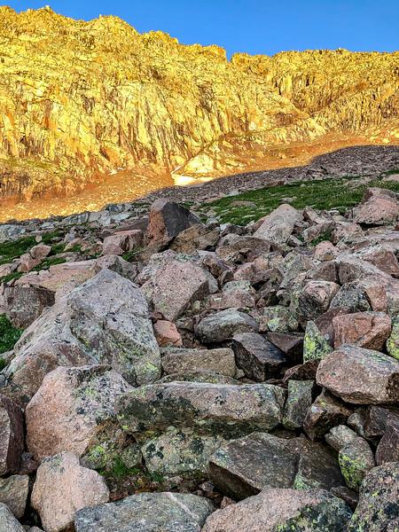 Eolus Boulder Field
