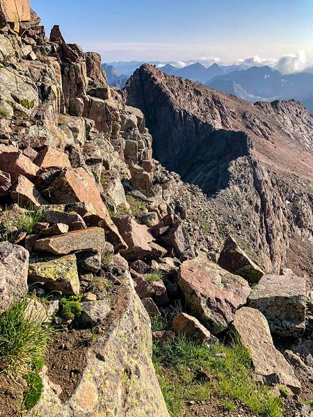 Eolus East Face Ascent