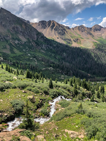 Twin Lakes Descent