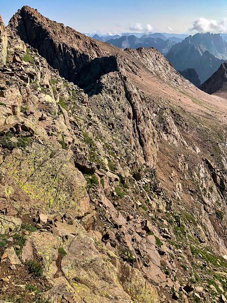Eolus East Face Descent