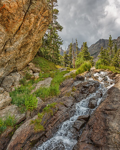 Cascades, Emerald Lake Trail