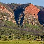 Missionary Ridge, Animas River valley San Juan Mountains, Colorado