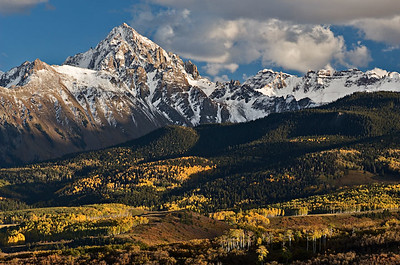 Mt. Sneffels Fall - first snow 20x30