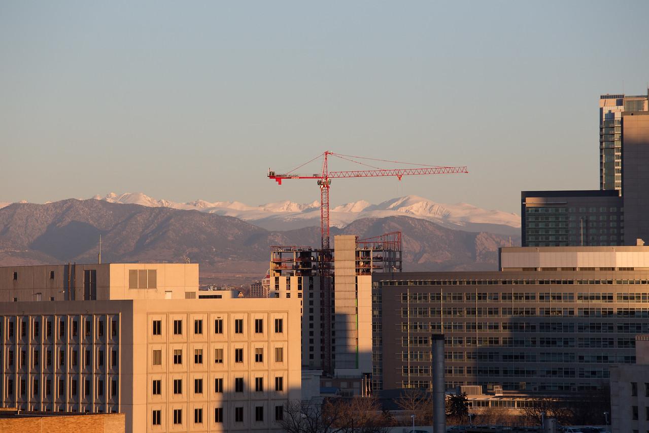 View from Joe and Liz's balcony, Denver.