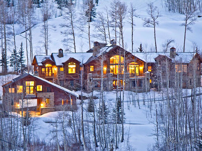 The Russell Estate in Telluride Village, CO