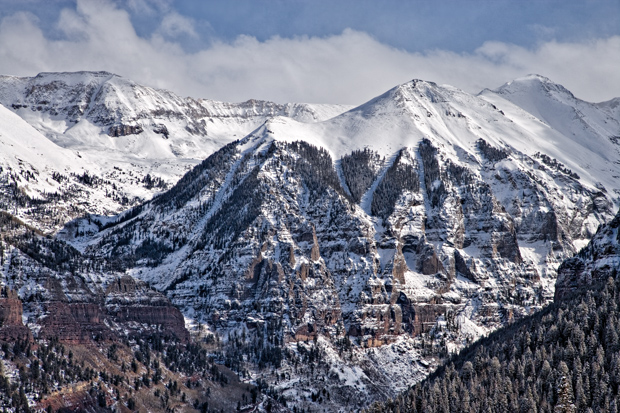 Telluride Valley from the ski area