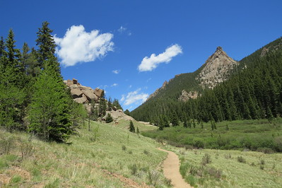 Pike National Forest Colorado: Crags Trail