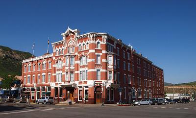 Strater Hotel circa 2009.  Main street, Durango.