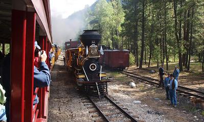 Eureka locomotive #4.