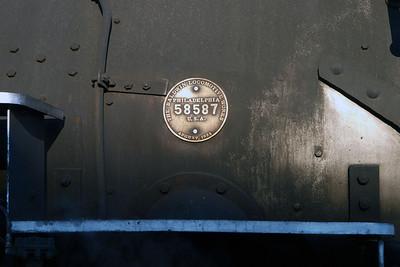 Locomotive #486 was built by The Baldwin Locomotive Works Company in Philadelphia in August of 1925.