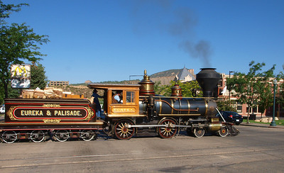 The Eureka Locomotive is privately owned and it is the only operating Baldwin Class 8/18C 4-4-0 locomotive.  The locomotive was built for the Eureka and Palisade Railroad in 1875.  It was restored to operations and first exhibited in 1991.