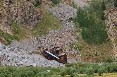 Old mine outside of Silverton, Colorado.