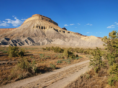 Mount Garfield near Palisades, Colorado.