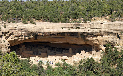 Mesa Verde Cliff Dwelling. Cliff Palace