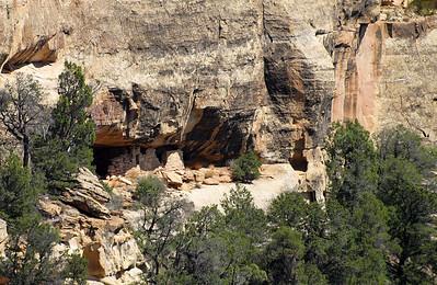 Mesa Verde Cliff Dwelling.