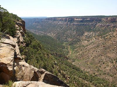 Mesa Verde vista looking SW