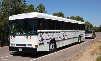 Mesa Verde Tour Bus.