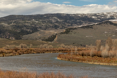 The Colorado River near the confluence with the Blue River and Kremmling, Colorado, on April 26, 2019. Photo by Mitch Tobin, The Water Desk