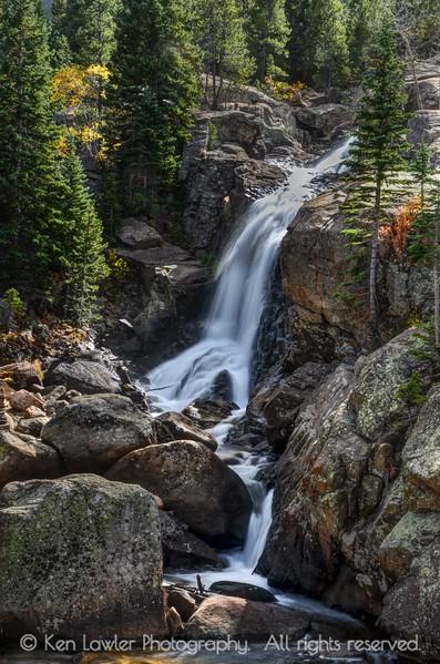 Sunny Alberta Falls
