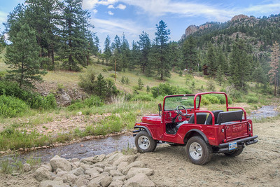 Awesome Jeep in Glen Haven, Colorado, USA