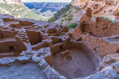 Kiva at Long House in Mesa Verde National Park, Colorado