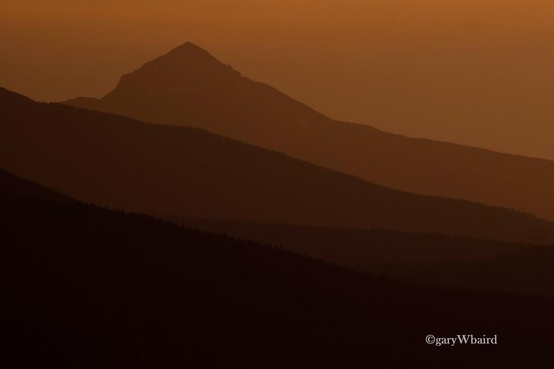 San Juan Sunset Layers