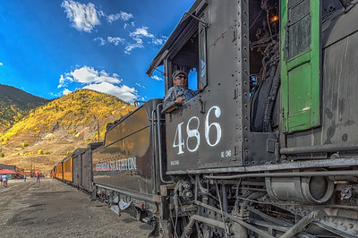 Durango-Silverton Railroad, SW Colorado