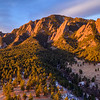 Green Mountain Sunrise Panoramic
