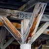 Numbered Timbers