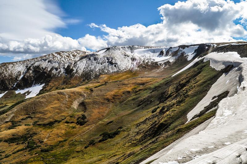 Snow Capped Ridge