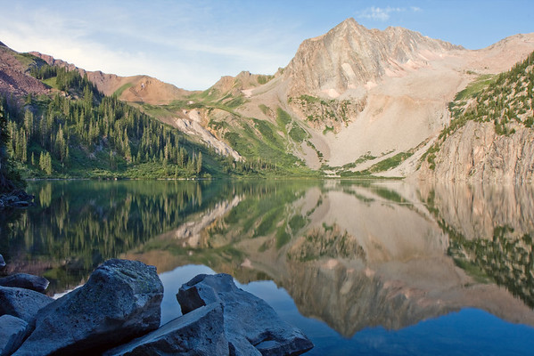 Snowmass Lake, from the Aspen Four Pass Loop