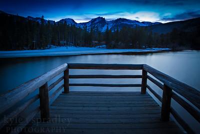 Sprague Lake Dock