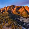 Green Mountain Flatiron Sunrise