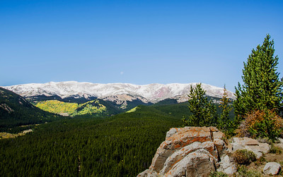 Overlook on Boreas Pass in Colorado