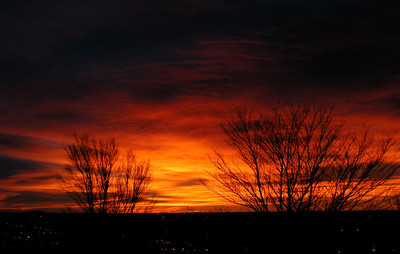Colorado Springs Winter Sunrise