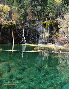 Hanging lake water, CO sig